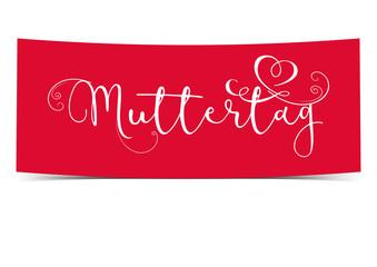 Muttertag - dekorativer Banner