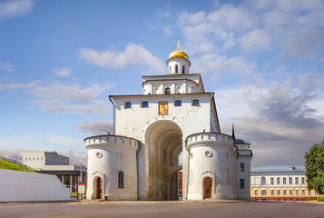 Golden Gate in Vladimir. Russia.