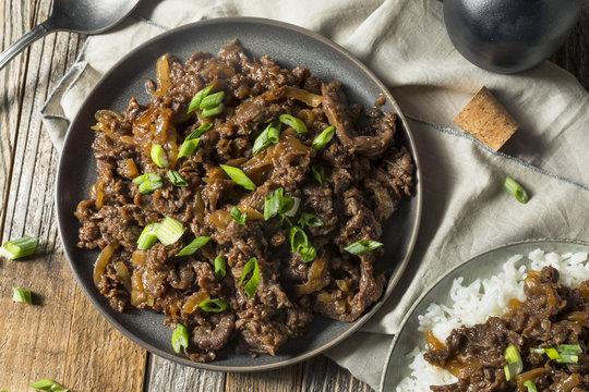 Homemade Barbecue Korean Beef Bulgogi