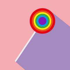 Icon of a lollipop