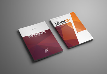Magazine/Brochure 7 Layout Mockup Set