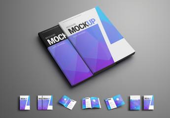 Magazine/Brochure 7 Layout Mockup Set