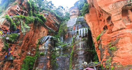Leshan Giant Buddha Leshan City in China