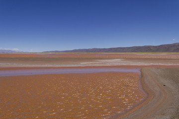 Atacama Desert in Chile.