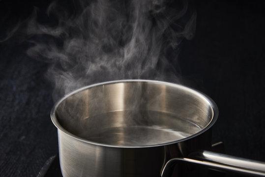 熱水の湯気