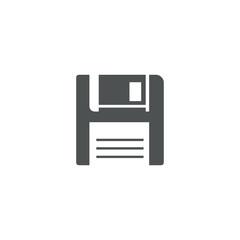 floppy disk icon. sign design