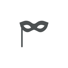 party mask icon. sign design