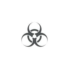 biohazard icon. sign design