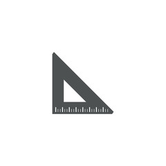 ruler icon. sign design