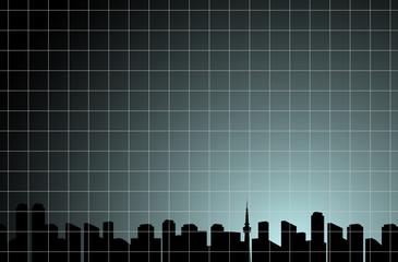 都市 メッシュ背景