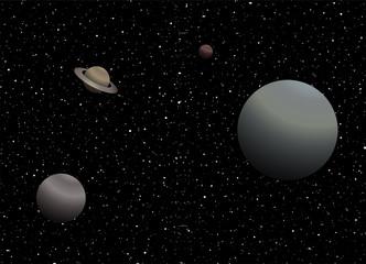 System solar illustration