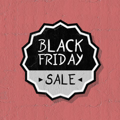 Black Friday symbol