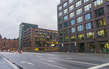 Office building in Hamburg