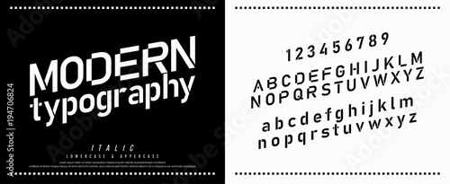 modern alphabet fonts and numbers  designs for logo, Poster