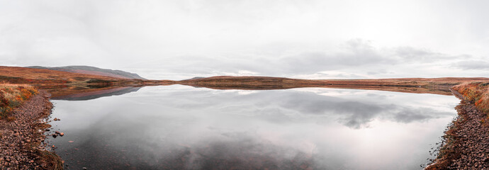 Iceland landscape panoramic