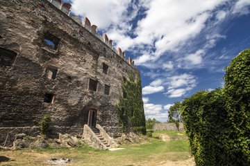 old medieval castle in Poland