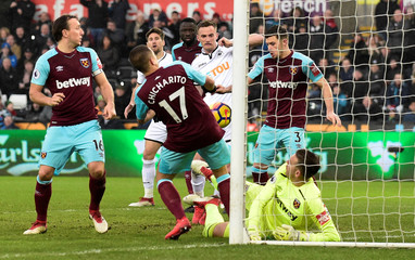 Premier League - Swansea City vs West Ham United