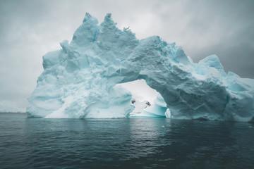 Gigantic Ice Bridge - Antarctica