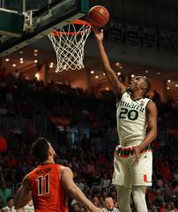 NCAA Basketball: Virginia Tech at Miami