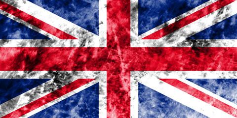 Old United Kingdom grunge background flag