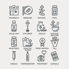 HEALTH ICONS-Vectors