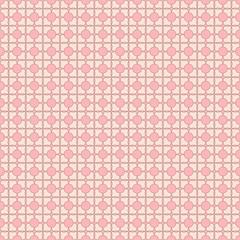 Flowery pink seamless pattern