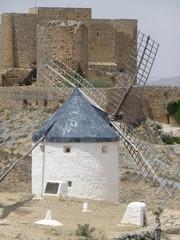 Consuegra, pueblo español de la provincia de Toledo, en la comunidad autónoma de Castilla La Mancha (España)