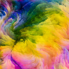Spirit of Colorful Paint