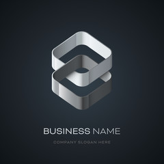 Logo Entreprise abstrait