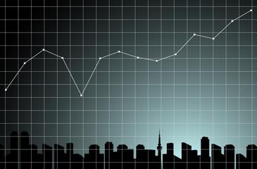 グラフ 都市背景