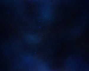 Night sky with stars. Deep sky at night background.