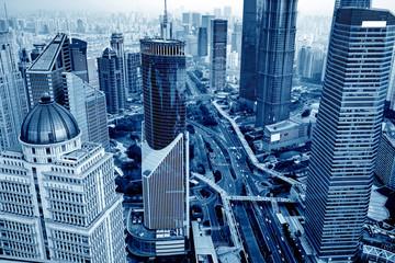Skyscraper in Shanghai, China