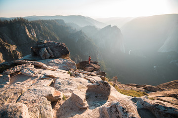 The sunset at Taft Point is probably the best in Yosemite