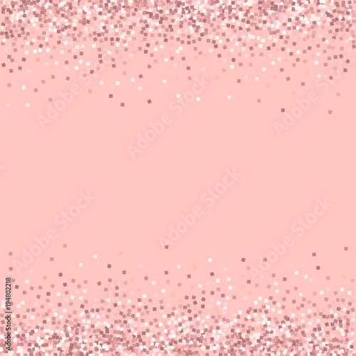 quotpink gold glitter borders with pink gold glitter on pink