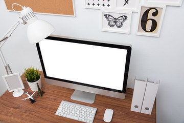 Monitor computer PC workspace