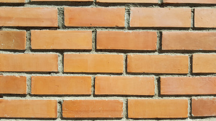 empty ancient brick and concrete texture wall for restaurant, website, picture frame advertising chart board, home decoration fence