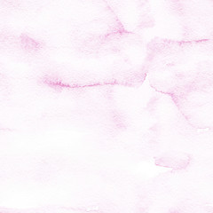 Hand drawn watercolor romantic pink background seamless pattern..