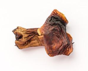 Dried mushroom.