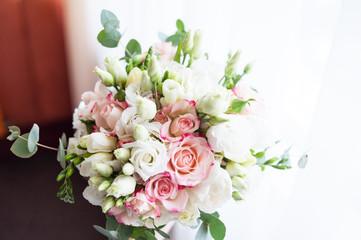 Beautiful wedding bouquet for bride