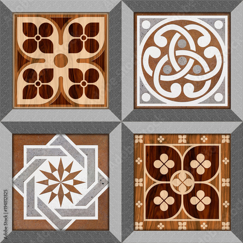 Abstract Texture Design Pattern For Wall Tile And Floor Tile