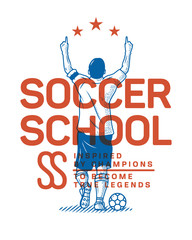 Soccer school to become as a champion