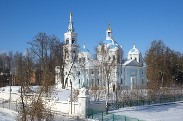 The Cathedral of the Holy Savior's Image in the Spaso-Blachernae monastery in Dedenevo, Moscow region, Russia