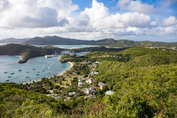English Harbour is a natural harbour and settlement on the island of Antigua in the Caribbean
