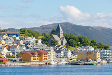 Nordlandet Church in Kristiansund, Norway. Its a parish church and it was completed in 1914.
