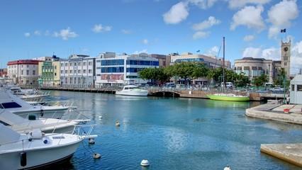 Bridgetown capitale de la Barbade