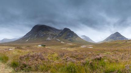 Mountains in Autumn near Glencoe, Scotland