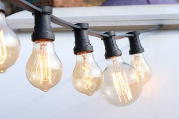 Vintage Antique Light Bulb.