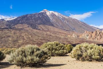 Teide National Park in Tenerife, Canary Islands, Spain.