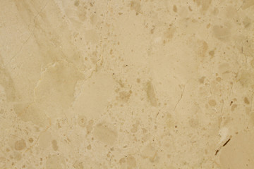 Polished sugar beige marble. Real natural marble stone texture and surface background.