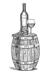 a wine still life
